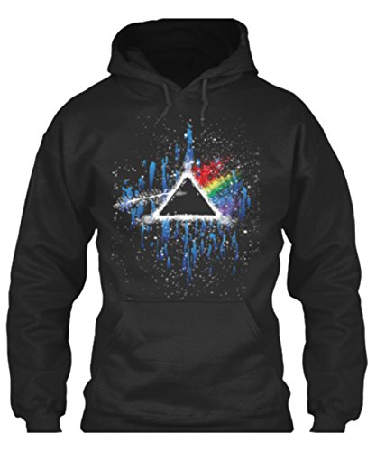 Twisted Image Tees Just £21.99 Pink Floyd Dark Side Of The Moon Vintage Rock n Roll Music Festival Hoodie Size Small - 3X