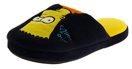 The Simpsons Jungen Mädchen Öffnen Sie Zurück Maultier Pantoffeln Marine-Blau