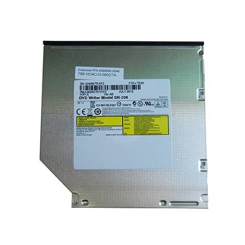SONY AD-7580S DVD Brenner Laufwerk Interner DVD-Brenner DVD±RW DL/-RAM Slim 12.7mm SATA ersetzt TS-L633 SN-208 für Laptops z.B. HP Pavillion DV3 DV5 DV6 DV7 DV8 Compaq 6730b 6735s NW8440 Presario CQ60 CQ62 HP 208 817100, Fujitsu Amilo Pi3560 Lifebook T900 A530 A1130, Toshiba Tecra M10-1D7 Satellite C660 L650D, Acer Aspire 5930G 6930G 5530G 7750G, Samsung R560 R525 Eikee NP-R780-JS03DE Aura Q320 Q210, Dell Inspiron 1545 1750, Sony Vaio VPC-CW2S1E/L VPC-EB3Z1E/BQ VPC-EB4X1E/BQ VGN-BZ26M VPC-F11Z1/E VPC-EB1S1E/BJ usw.