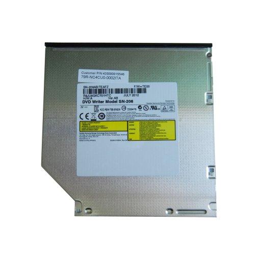 Samsung Original SN-208 - Masterizzatore/lettore interno per DVD, in sostituzione del modello L633, per tutti i modelli di PC portatile con connessione SATA e vano per unità di disco da 12,7 mm, ad esempio HP Pavillion DV3 DV5 DV6 DV7 DV8 Compaq 6730b 6735s NW8440 Presario CQ60 CQ62, Fujitsu Amilo Pi3560 Lifebook T900 A530 A1130, Toshiba Tecra M10-1D7 Satellite C660 L650D, Acer Aspire 5930G 6930G 5530G 7750G, Samsung R560 R525 Eikee NP-R780-JS03DE Aura Q320 Q210, Dell Inspiron 1545 1750, Sony Vaio VPC-CW2S