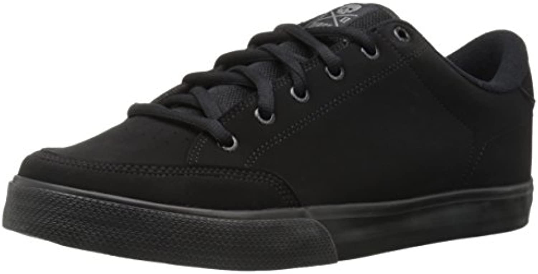 Zapato deportivo con cordones para zapatillas AL50 Adrian Lopez para hombre, negro / negro sint¨¦tico, 5.5 medios  -