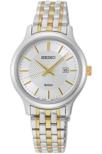 Seiko neo classic orologio Donna Analogico Al quarzo con cinturino in Acciaio INOX SUR647P1