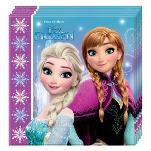 Disney Frozen 20 Servietten Paket Party Deko Geburtstag Anna Elsa (Disney Frozen Party)