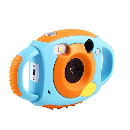 Vbestlife Mini Cámara Hermosa de Juguete 2 Colores 1.8' HD Pantalla Cámara de Video Digital con 4 Filtros Videojuegos Regalos para Niños (Azul)