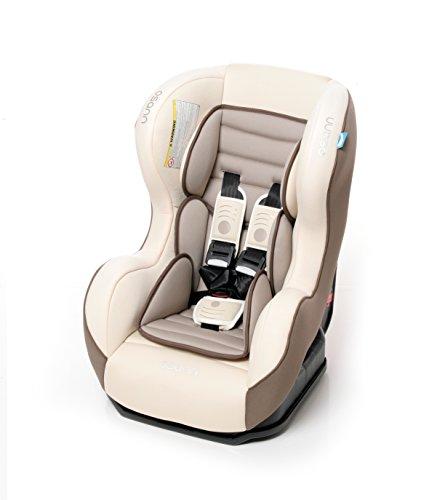 Osann Kinderautositz SafetyONE Fossil beige, 0 bis 18 kg, ECE Gruppe 0 / 1, von Geburt bis ca. 4 Jahre, reboard bis 10 kg nutzbar