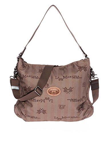LA MARTINA Donne Shopping bag marrone one size