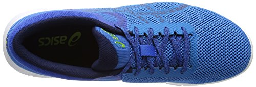 Asics Nitrofuze 2, Scarpe Running Uomo Blu (Hawaiian Surf / Indigo Blue / Energy Green)