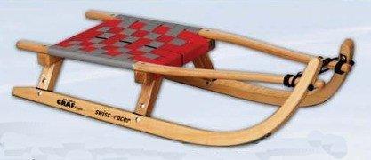 Ress 85007 graf swiss racer avec assise tressée, rouge, argent, 112, 85002 cm