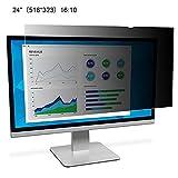 Blickschutzfilter Privacy Filter Blickschutzfolie Für Computermonitore, 24 Zoll Desktop Computer Sicherheit Bildschirms LCD Bildschirm Schutzfolie PC Universal Blickschutzfilter 21,5 22 23 24