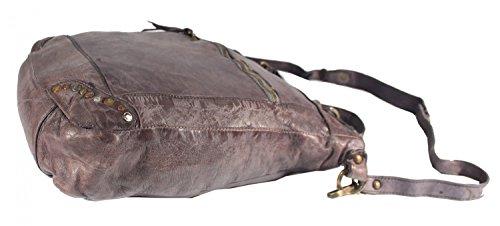 Rodhschild, Borsa a tracolla donna grigio grigio scuro grigio scuro