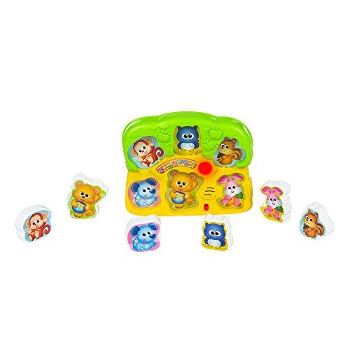 Winfun - Puzzle animales con luz & sonido (ColorBaby 44524)