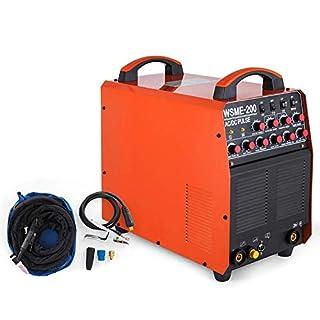 Mophorn 200Amp Tig Hf/MMA 3 in 1 Ac/Dc Inverter Welder Welding Machine Arc Start, Digital Control, 220V 230V