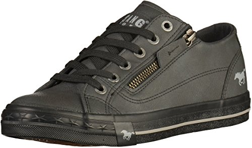 Mustang 1146-302-800, Sneakers Basses Femme Graphite