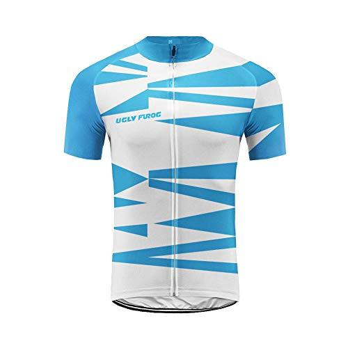 Uglyfrog+ Herren T-Shirt Bike Ride Triathlon Bicycle Fahrrad -