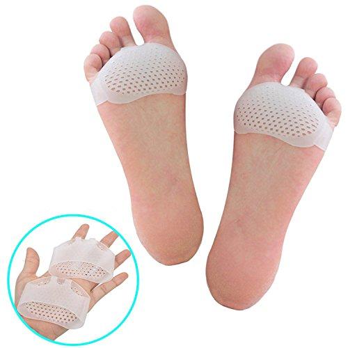 1Coppia di calcio Imbottitura Set, metata rsalgie dolore linderungs Pads, Borsiti cuscino in gel, adatto per lavori, la corsa
