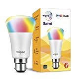#5: Wipro Garnet Smart Light 7W B22 LED Bulb, Compatible with Amazon Alexa & Google Assistant