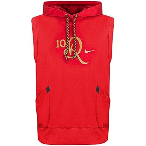 Nike - Sudadera con capucha - para hombre Rojo rosso Talla:large