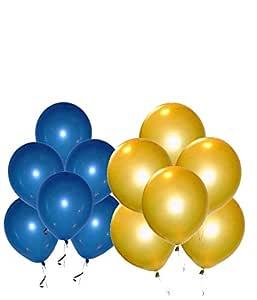 WoW Party Studio Birthday Latex Balloon, 50 Piece, Multicolour
