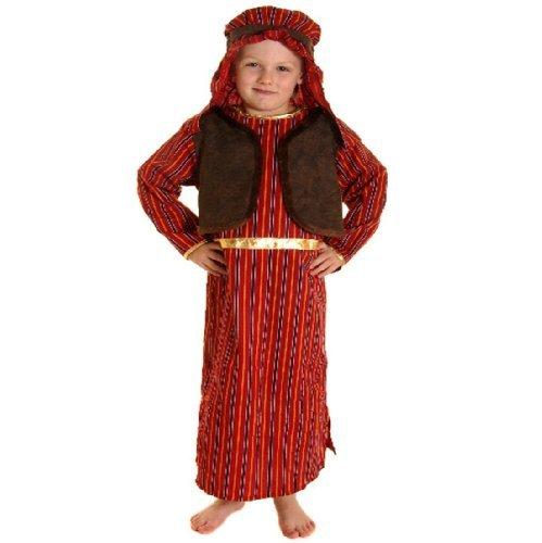 Kostüm Kinder Jungen braun & rot Schäferhund Krippe Kostüm - klein Ages - Jungen Krippe Kostüm