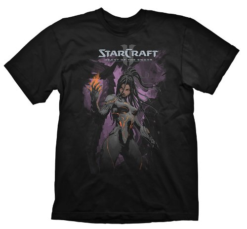 Preisvergleich Produktbild Starcraft 2 T-Shirt Heart Of The Swarm Kerrigan, Größe S