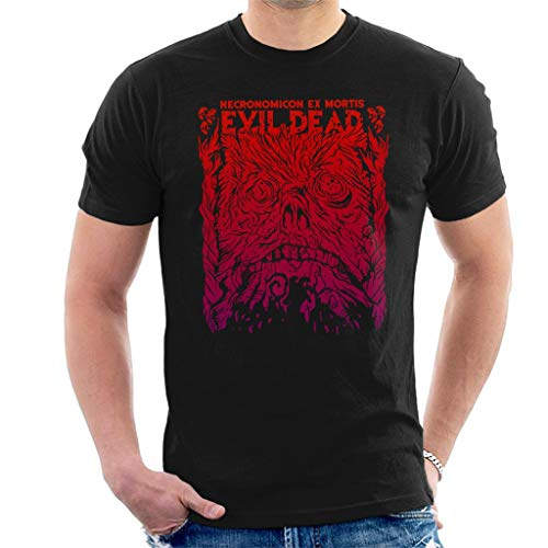 Cloud City 7 Necronomicon Ex Mortis Evil Dead Men's T-Shirt