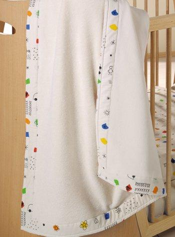 Preisvergleich Produktbild Kuscheldecke Fantasia 100 % Verlours Baumwolle (kbA)