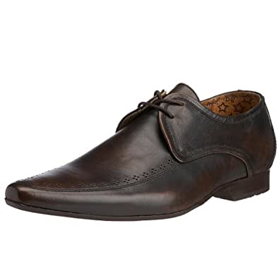 H by Hudson Men's Flite Lace-Up Brown 1004200 7 UK