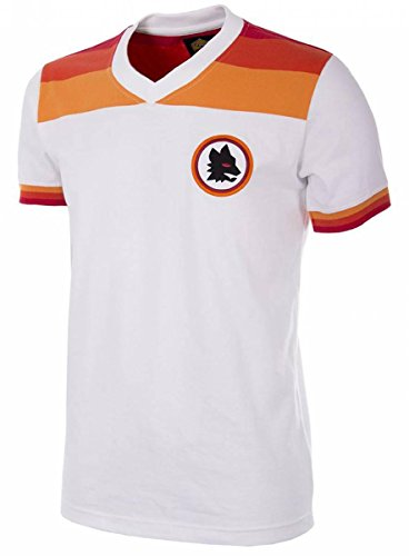 Copa AS Rom Retro Trikot 1978/1979 Away weiß, L
