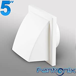 Fantronix Extracteur d'air en plastique 125 mm
