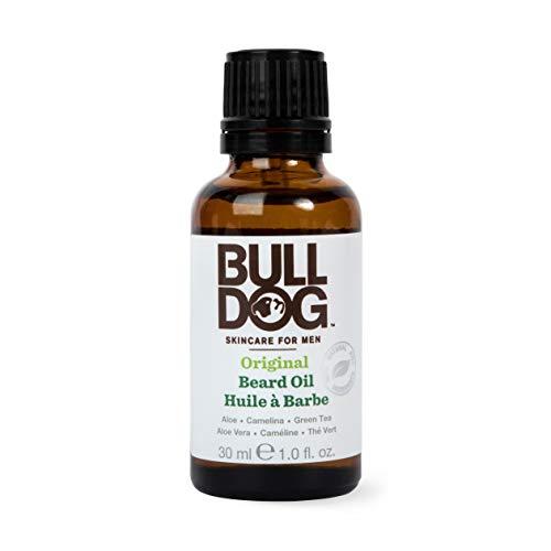Bulldog Original Aceite para la barba, 30 ml, lote de 2 unidades