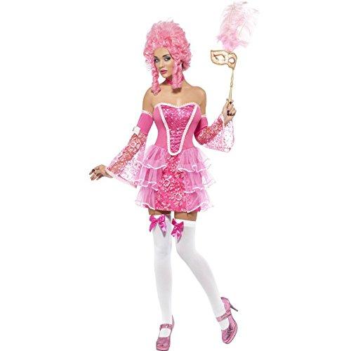 Fever Women's Marie Antoinette Sparkle Costume, Pink, S