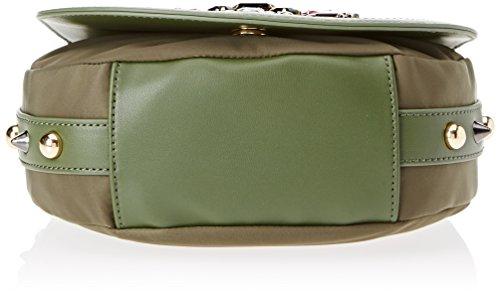 Braccialini Keira, Borsa a Tracolla Donna, 18x22x21 cm (W x H x L) Verde