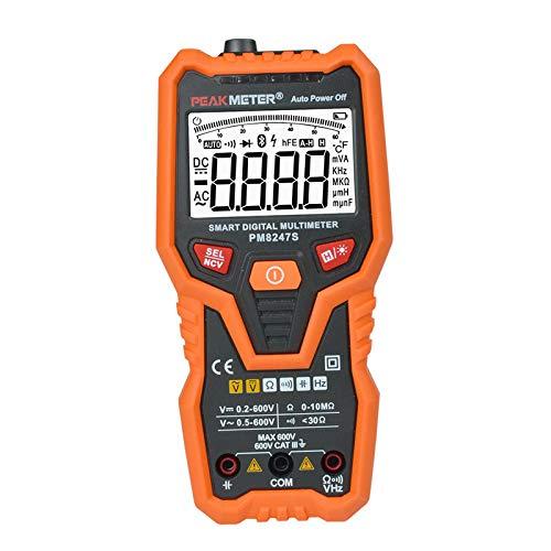 Viviance Intelligente Digitale Multimeter Voltmeter Auto Range Professional Ammeter Ncv Frequenz