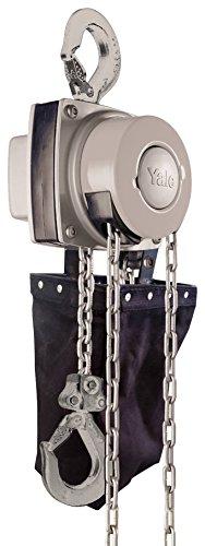 Yale amz1021275Hand Kettenzug mit Kette Container, 360MKIII, Single Fall, korrosionsbeständiges Finish, 1000kg, 5m -