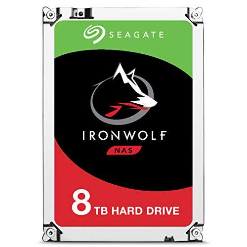 Seagate Iron Wolf - Disco Duro Interno 8 TB Sistemas