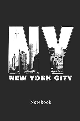 New York City Notebook: Lined journal for NYC, big apple and manhattan fans - paperback, diary gift for men, women and children