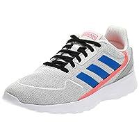 adidas Nebzed, Men's Road Running Shoes, White (Chalk White/Glory Blue/Solar Red),7.5 UK (41 1/3 EU)