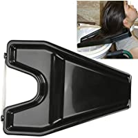 Bandeja de lavado de cabello Salón portátil Peluquería Champú Aclarado Movilidad para el fregadero (44 x 32, 5 cm)