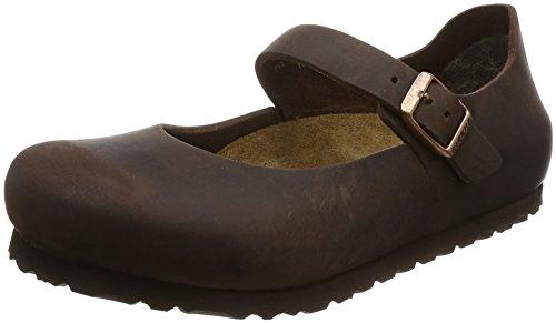 Birkenstock Schuhe ''Mantova'' aus echt Leder in Habana 38.0 EU S