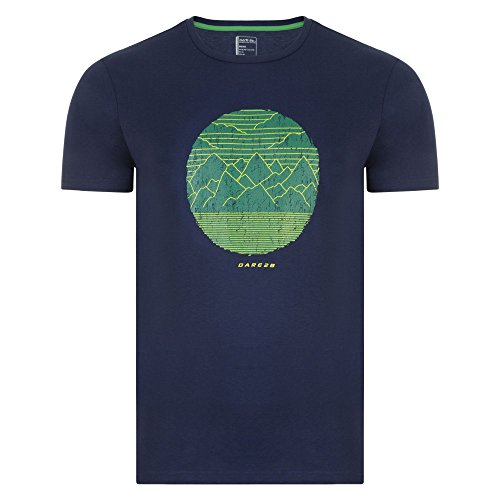 Dare 2b Herren Mountainous T-Shirt, Charcoal Marl, xxl Trail Blaze