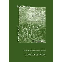 Lo Justo (Colección Esprit, Band 34)