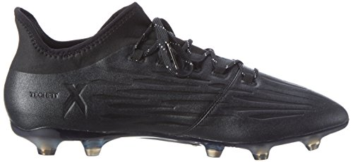 adidas X 16.2 Fg, Chaussures de Football Entrainement Homme Noir (Core Black/core Black/dark Grey)
