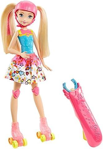 Barbie DTW17 Video Game Hero Skating Doll