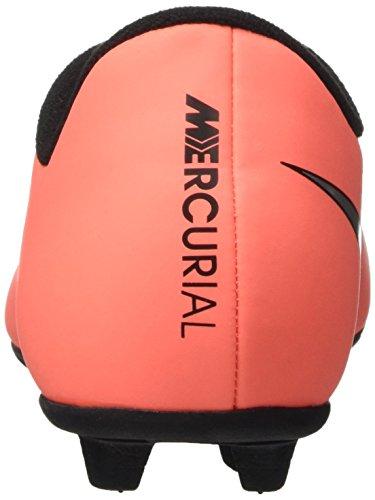 Nike Jr Mercurial Vortex II Fg-R, Scarpe da Calcio Unisex Bambini, UK Multicolore (Brght Mng/Mtllc Slvr-Hypr Trq)