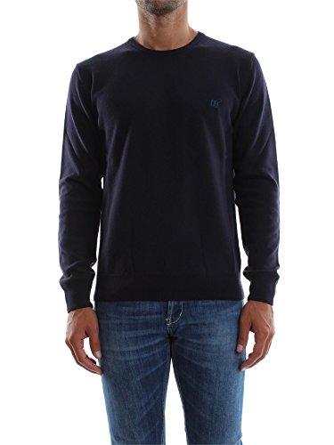 Maglia Uomo Henry Cotton's 90008 01 96654 Blu Autunno/Inverno Blu L