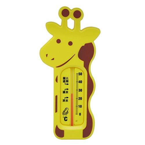Fahou Niedlichen Cartoon Giraffe Wasserthermometer Baby Baden 0-50 ℃ Temperaturmessung Kleinkinder Kleinkind Dusche Spas Whirlpool Versorgung