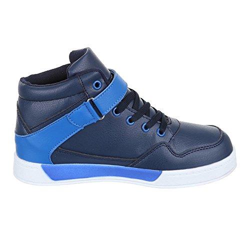 Chaussures pour enfants, 712–9, loisirs chaussures sneakers sportive Bleu - Bleu
