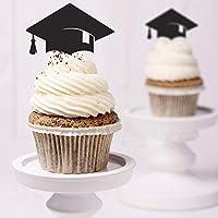 Decoración para tarta para, Cake Decoración Fiesta suministros cupcake toppers graduación de Dr. Sombrero Mini Pastel de cumpleaños para aperitivos fiesta púas proveedores accesorios de fiesta para fiesta de graduación