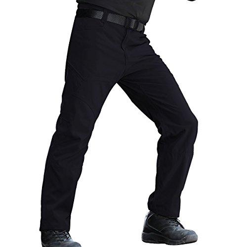 Arbeit Cargo Hose – Herren Tactical Outdoor Leicht Wasserabweisend Elastische Taille Multi Taschen Combat Pants (Schwarz 40) (Boys Blue Navy Passt)