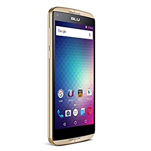 BLU Energy Diamond 3G SIM-Free Smartphone (4,000 mAh Super Battery) - Gold